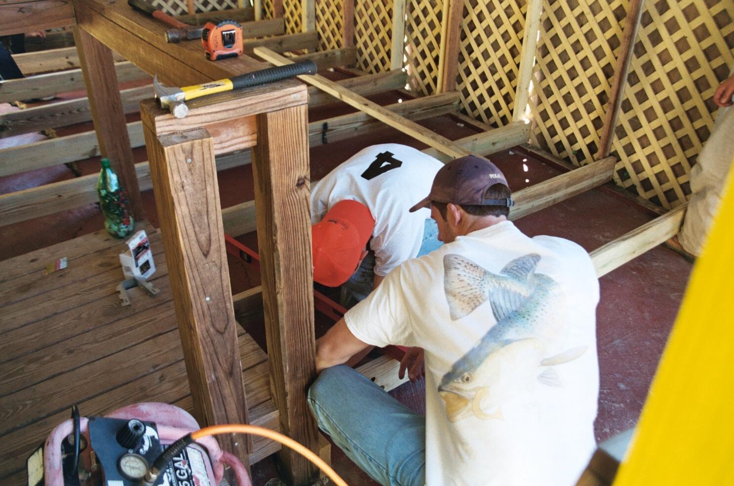 building wood foundation