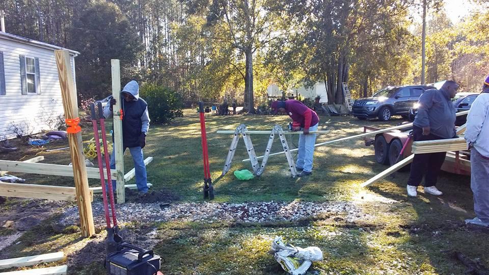 Setting up ramp posts